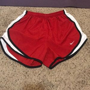 Small Nike running shorts